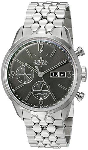 【ブローバMen 'sステンレススチールAutomatic Watch ( Model : 63?C119?)】     b00obl0wru