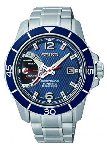 【Seiko Kinetic SRG017P1 - Wristwatch  Man】     b00mcbfm76