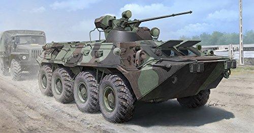 【トランペッター 1/35 ロシア連邦軍 BTR-80A 装甲兵員輸送車】