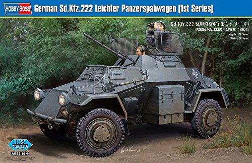 【ホビーボス 1/35 ファイティングヴィークルシリーズ Sd.Kfz.222 装甲偵察車 第1シリーズ】