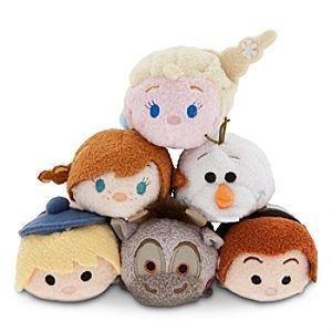 【Disney Frozen Tsum Tsum Mini Dolls 3.5?  6つのセットRare Elsa Anna Olaf Hans Kristoff Sven Sold Out Super Cute Collectible】     b00uqojdqc