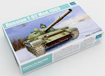 【トランペッター 1/35 ソビエト軍 T-62 主力戦車 Mod.1960】     b00qjnydb4