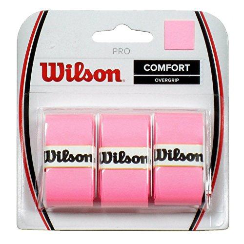 【Wilson Pro Overgrip快適???3パック???すべての色の選択肢】     b00qos6xna