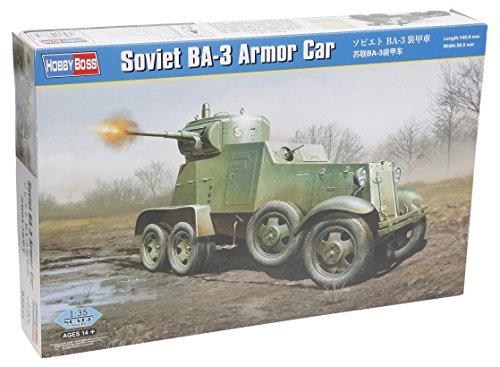【ホビーボス 1/35 ファイティングヴィークル シリーズ ソビエト BA-3 装甲車】     b00rgjwnte