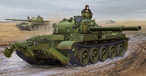 【トランペッター 1/35 ソビエト軍 T-62 主力戦車 Mod.1975/KMT-6】     b00v9eu9e8