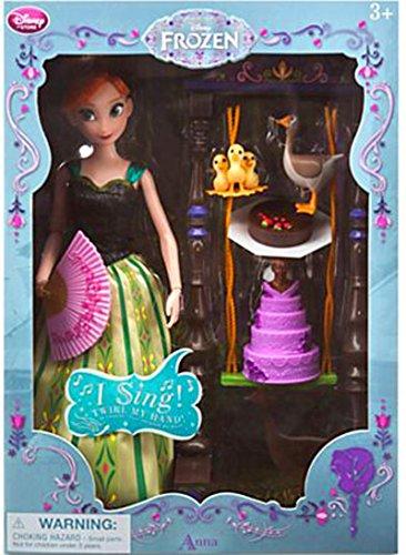 【送料無料】【アナと雪の女王 ディズニストア アナ デラックス シンギングドール セット Disney Frozen Anna Deluxe Singing Doll Set】     b00r3kog0a