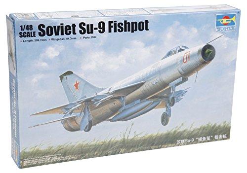 【トランペッター 1/48 ソビエト空軍 Su-9 フィッシュポット】     b00qjny4zy