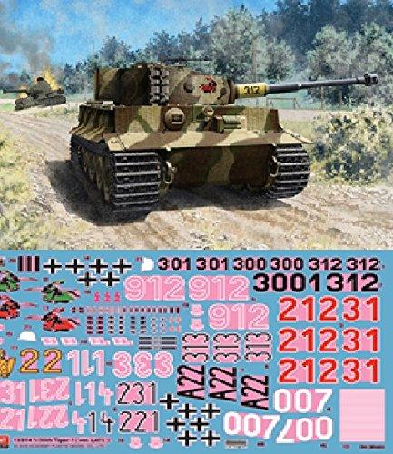 【アカデミー 1/35 ドイツ タイガーI 戦車 後期 Ver.】     b00rwhsora