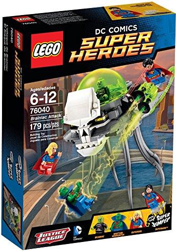 【送料無料】【[レゴ]LEGO DC Super Heroes Brainiac Attack Set #76040 [並行輸入品]】     b00r8y8hb0