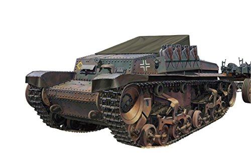 【ブロンコモデル 1/35 独・シュコダ重砲牽引トラクター35 t】     b010nkpby6