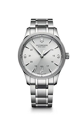 【Victorinox 241712メンズSwiss Armyステンレススチールシルバーブレスレットバンドシルバーダイヤル腕時計】     b010peb9hs