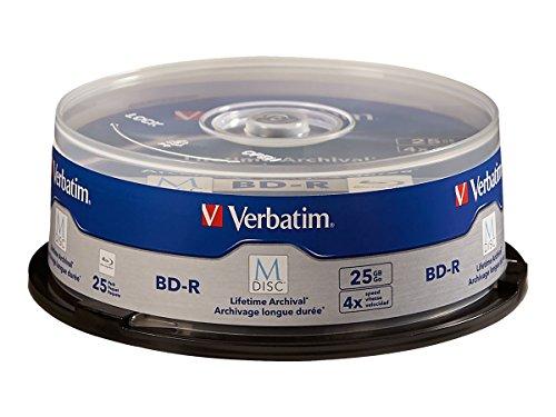 【送料無料】【Verbatim M-Disc - 25 x BD-R - 25 GB 4x - spindle】     b011pzalwa