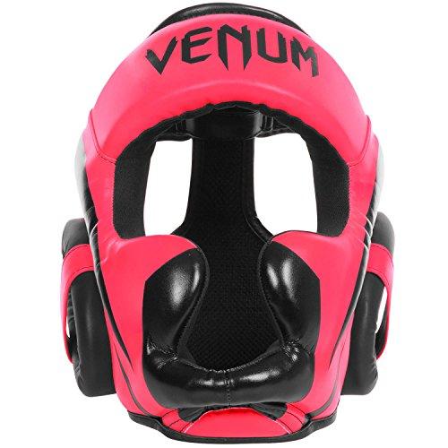 【VENUM ヘッドギア Elite(エリート) (黒ピンク)】     b013shrbbw