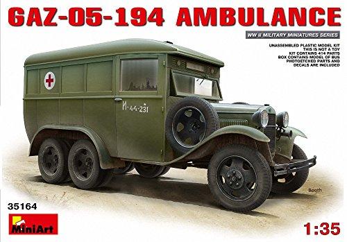 【ミニアート 1/35 GAZ-05-194 アンビュランス】     b00zolmw60