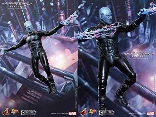 【送料無料】【Hot Toys Maverl Collectibles The Amazing Spider-Man 2 Electro Jamie Foxx 1/6 Scale Figure】     b012hpu3fw