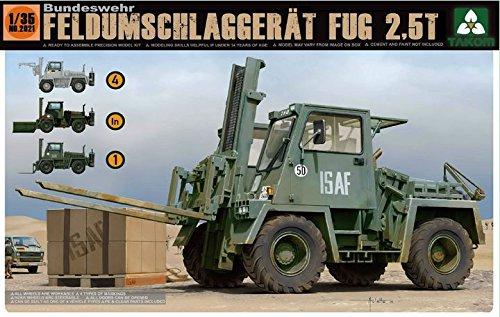 【TAKOM 1/35 ドイツ連邦 軍用重フォークリフト FUG 2.5t】     b00vpw4r56