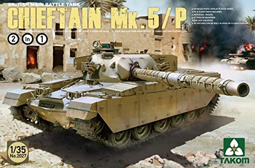 【TAKOM 1/35 イギリス主力戦車 チーフテン Mk.5/P 「2 in 1 キット」】     b012nbzuvc