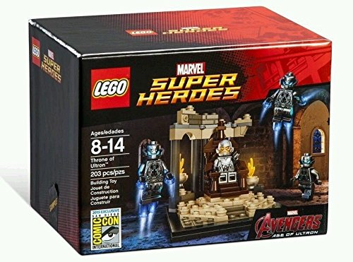 【送料無料】【SDCC 2015 Exclusive Lego Throne of Ultron Marvel Avengers #6590】     b011zi575s