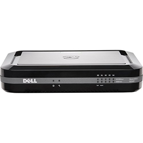 【送料無料】【Dell SonicWALL SOHO Wireless-N - Security appliance - with 1 year TotalSecure - 5 ports - 10Mb LAN  100Mb LAN  GigE - 802.11a/b/g/n - Dual Band】     b014n4tzuo