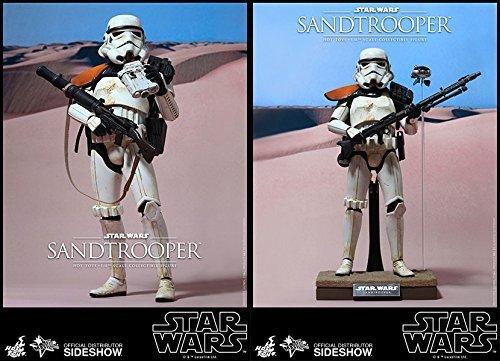 【送料無料】【Hot Toys Star Wars Episode IV A New Hope Sandtrooper 1/6 Scale Figure】     b018rp37sg
