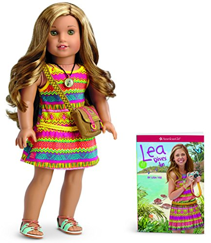 【送料無料】【[アメリカンガール]American Girl American Lea Clark Lea Doll and Book American of 2016 DGT25-BF1A [並行輸入品]】     b01a3i3tp6