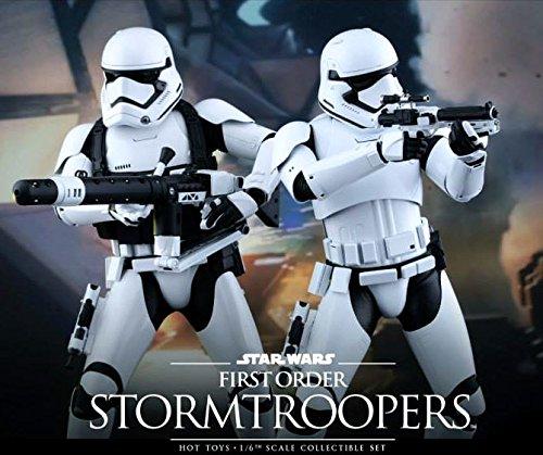 【送料無料】【Hot Toys Star Wars First Order Stromtroopers 1?/ 6スケール12? 図2パックセット】     b01a7uzyps