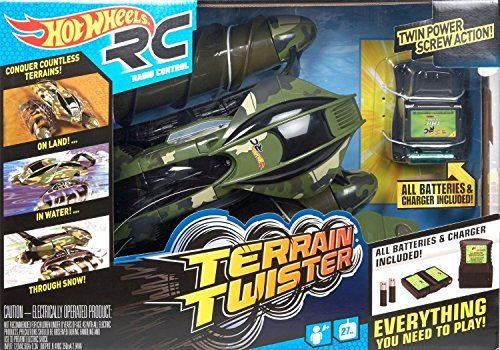 【送料無料】【Hot Wheels Terrain Twister  Camo】     b017aata6w