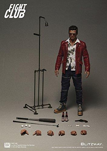 【送料無料】【Blitzway Tyler Durdenレッドコートバージョン  Fight Club   Statue ( 1?/ 6スケール)】     b01e0p412s