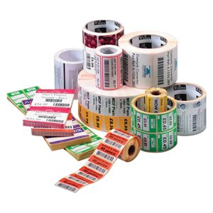 【Zebra Technologies 10010028 Z-Perform 2000D Paper Label  Direct Thermal  Perforated  2 x 1  1 Core  5 OD  2340 Labels per Roll by Zebra Technologies】     b01clag9qa