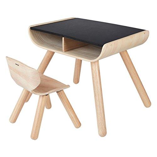 【送料無料】【PLANTOYS テーブル チェア ブラック 8703】     b01d8y8cmm