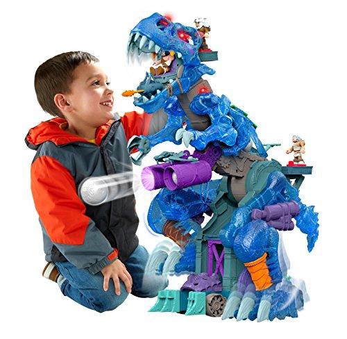【送料無料】【Fisher-Price Imaginext Ultra T-Rex - Ice フィッシャープライス ウルトラ ティーレックス アイス【海外輸入品】】     b01dkjiaay