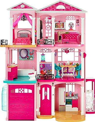 【送料無料】【Barbie Dreamhouse バービー ドリームハウス [並行輸入品]】     b01c809noi