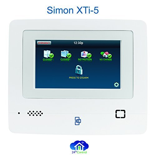 【Simon XTi-5 Starter Package with 5 LCD color touch screen Simon XTi-5 Panel by Interloix】     b01m6xdd7s
