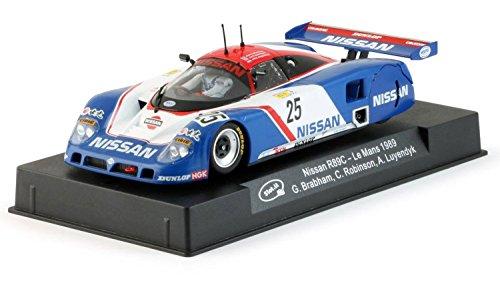 【スロットイット(slot.it) 1/32 スロットカー カルソニック ニッサン R89C ル・マン24h 1989 No.23 長谷見昌弘、星野一義、鈴木利男チーム 23号車 Calsonic Nissan R89C #23 - 24h Le Mans 1989  CA28d】     b01iruuxew