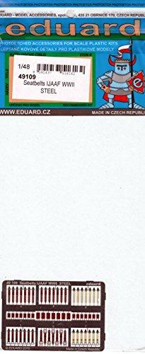 【エデュアルド 1/48 第二次世界大戦 日本陸軍機用シートベルト ステンレス製 プラモデル用パーツ EDU49109】     b01m083929