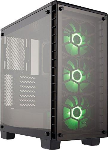 【Corsair Crystal 460X RGB ミドルタワー型PCケース CS6657 CC-9011101-WW】     b01la2lb7w