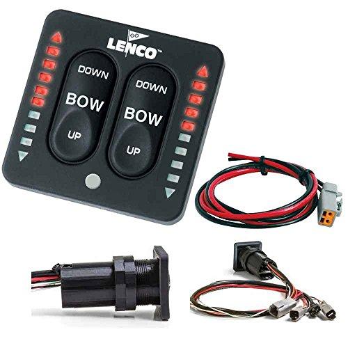 【LED Indicator Switch w/ Pigtail  Single】     b01m1s4gx9
