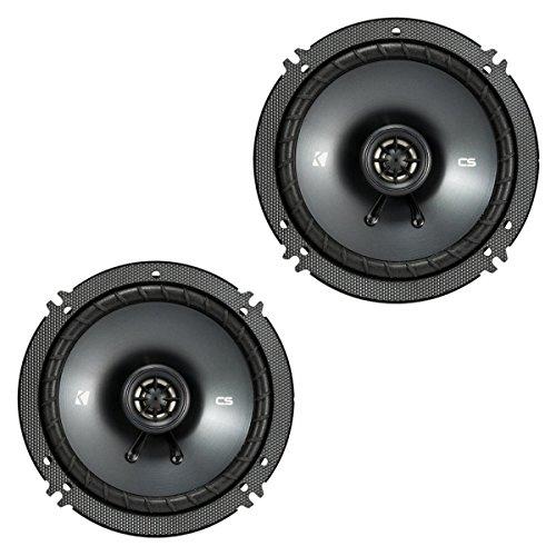 【Kicker 43CSC654 CSC65 6.5-Inch Coaxial Speakers  4-Ohm by Kicker】     b01matsh7y