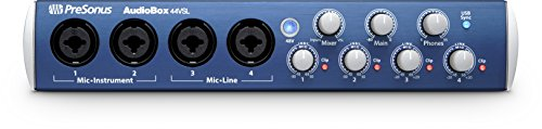 【Presonus AudioBox 44 VSL Interface audio 4 entrees/4 sorties USB 2.0 Noir】