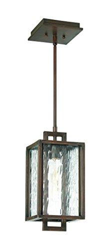 【Craftmade z9801   12キュービック1 Light Smallペンダント白熱 Aged Bronze Brushed】     b06xn6l6gk