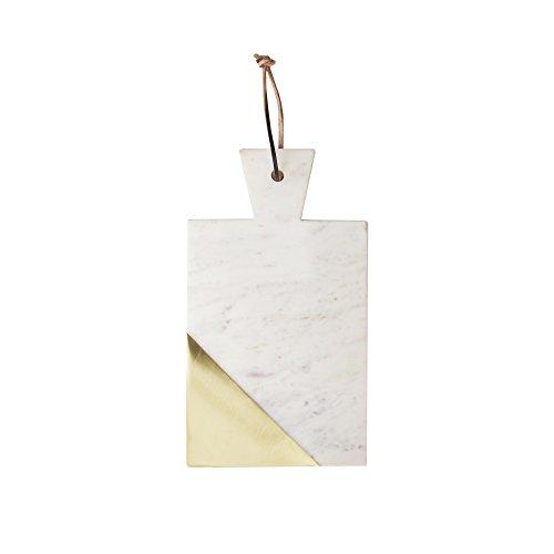 【American Atelier 1810041大理石カッティングボード、ホワイト】     b074yz7xrm
