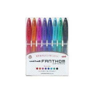 【全国送料無料】(業務用30セット) 三菱鉛筆 ゲルボールペン8色 UF202058C【ポイントアップ中】