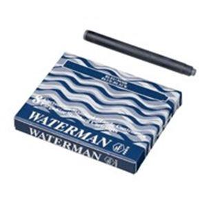【全国送料無料】(業務用50セット) ウォーターマンカートリッジ 青黒 8個 ×50セット【ポイントアップ中】