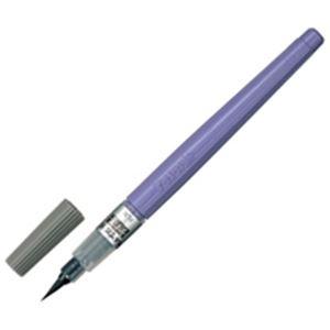 【全国送料無料】(業務用100セット) ぺんてる 筆ペン XFL3L うす墨 中字【ポイントアップ中】
