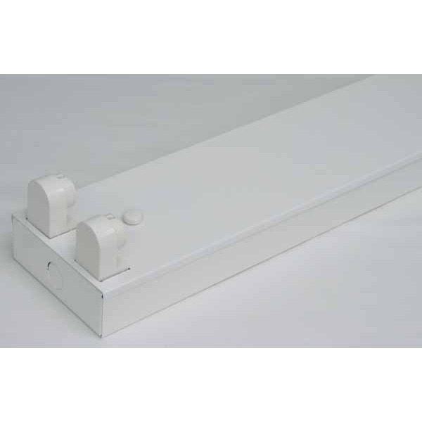 【全国送料無料】10台セット 直管LED蛍光灯用照明器具 トラフ型 20W形2灯用【ポイントアップ中】