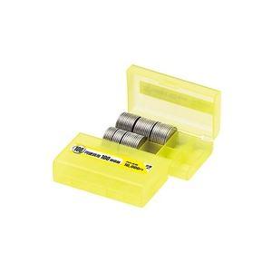 【全国送料無料】(業務用200セット) オープン工業 コインケース M-100W 100円用 収納100枚【ポイントアップ中】