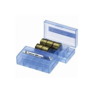 【全国送料無料】(業務用200セット) オープン工業 コインケース M-5W 5円用 収納100枚【ポイントアップ中】