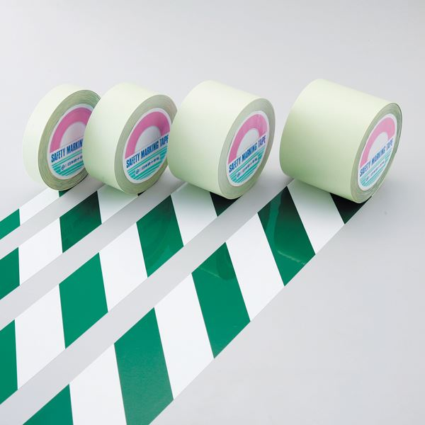 【全国送料無料】ガードテープ GT-101WG ■カラー:白/緑 100mm幅【代引不可】【ポイントアップ中】