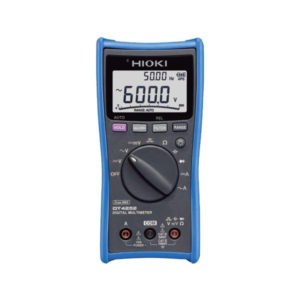 【全国送料無料】日置電機 デジタルマルチメータ(高精度の直流電圧測定) DT4252【代引不可】【ポイントアップ中】