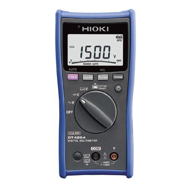 【全国送料無料】日置電機 デジタルマルチメータ(電圧測定専用タイプ) DT4254【代引不可】【ポイントアップ中】